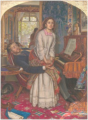 William Holman Hunt's The Awakening Conscience