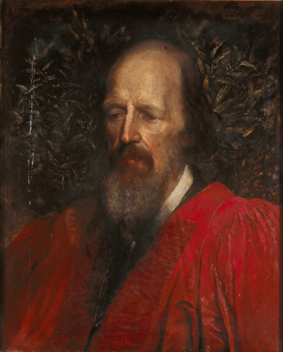 Watts portrait of Tennyson