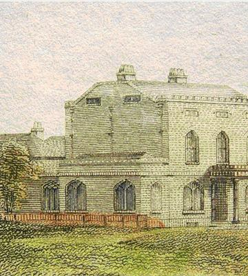 <b>Before: </b>The House in 1808