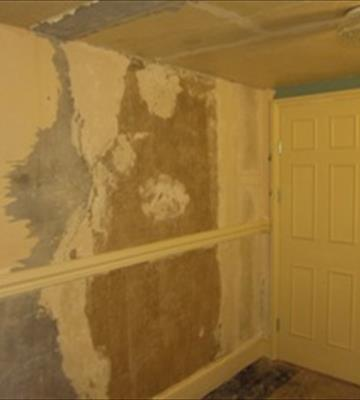 <b>Before: </b>Plasterboard hides stargazing window