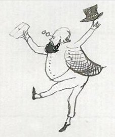 Edward Lear self portrait