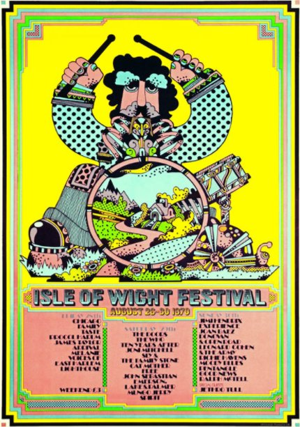 Isle of Wight Festival 1970 poster