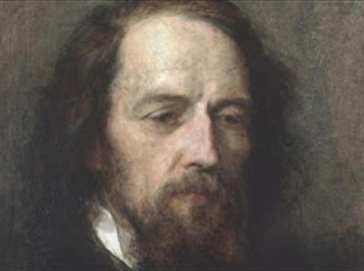 Alfred, Lord Tennyson died on 6 October 1892. A few years later his friend, George Frederick Watts began work on a me