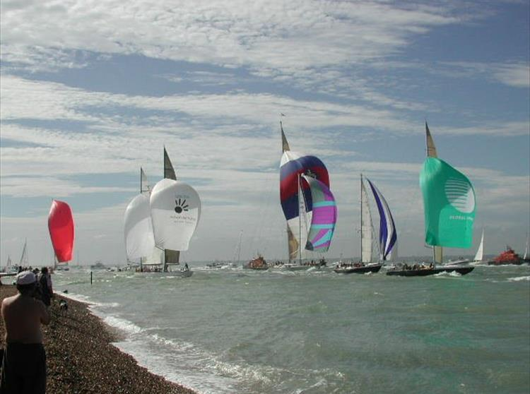 Cowes Week takes place in August each year and is one of the UK's longest running sporting events. Starting in 1886