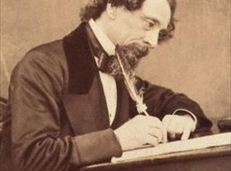 Tennyson and Charles Dickens crossed paths a number of times and while they respected one another's work, they