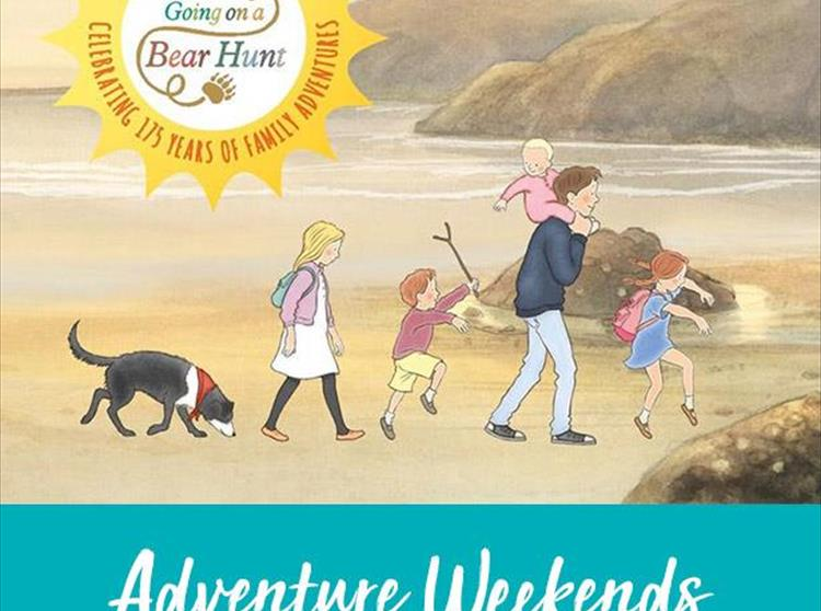 'We're Going on a Bear Hunt' is a classic childrens favourite and this year Visit Isle of Wight, The National Trust and Walker Books have teamed up to create their very own 'Bear Hunt' on the Isle of Wight.
