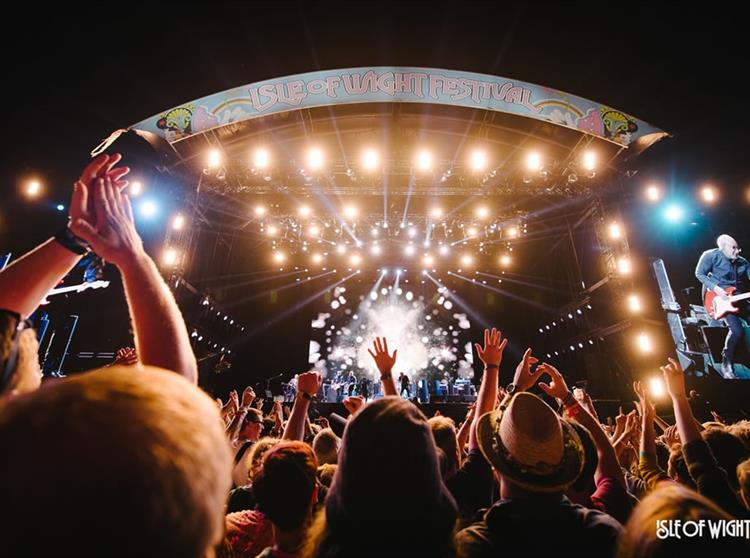 The Isle of Wight Festival marks the beginning of the UK's music festival calendar and has featured great headline acts like the Rolling Stones, Paul McCartney, Coldplay, David Bowie, Rod Stewart and REM.