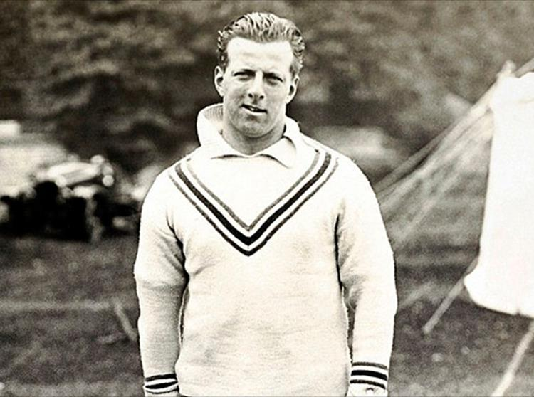 Lionel Tennyson, grandson of Alfred and son of Hallam, was a famous cricketer. Renowned not only for his Captaincy of the England team
