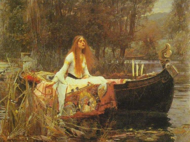 In The Lady of Shalott (1888) John