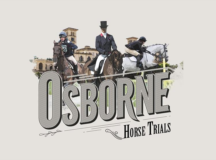 Equestrian Action at Osborne House on the Isle of Wight