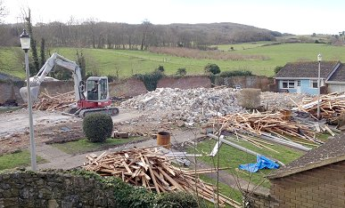 Demolition of the Emily self catering cottages