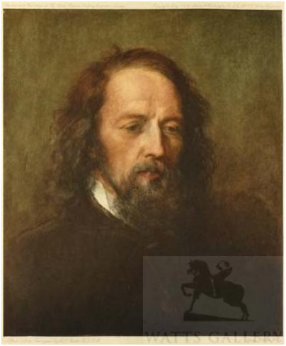 Tennyson portrait