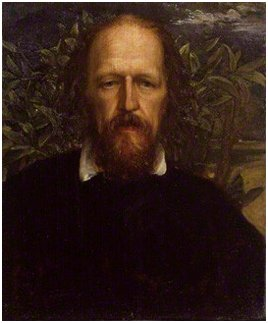 Tennyson portrait by G. F. Watts